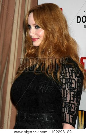 LOS ANGELES - SEP 18:  Christina Hendricks at the TV Industry Advocacy Awards Gala at the Sunset Tower Hotel on September 18, 2015 in West Hollywood, CA