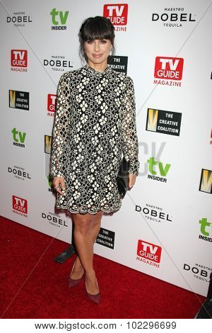 LOS ANGELES - SEP 18:  Constance Zimmer at the TV Industry Advocacy Awards Gala at the Sunset Tower Hotel on September 18, 2015 in West Hollywood, CA