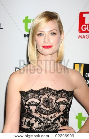 LOS ANGELES - SEP 18:  Beth Behrs at the TV Industry Advocacy Awards Gala at the Sunset Tower Hotel on September 18, 2015 in West Hollywood, CA