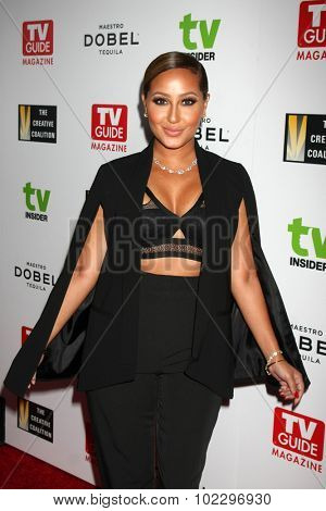 LOS ANGELES - SEP 18:  Adrienne Bailon at the TV Industry Advocacy Awards Gala at the Sunset Tower Hotel on September 18, 2015 in West Hollywood, CA