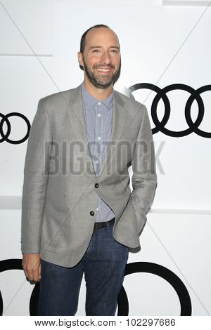LOS ANGELES - SEP 17:  Tony Hale at the Audi Celebrates Emmys Week 2015 at the Cecconi's on September 17, 2015 in West Hollywood, CA