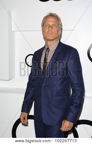 LOS ANGELES - SEP 17:  Patrick Fabian at the Audi Celebrates Emmys Week 2015 at the Cecconi's on September 17, 2015 in West Hollywood, CA