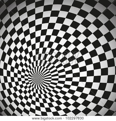 Hypnotic Chess Background