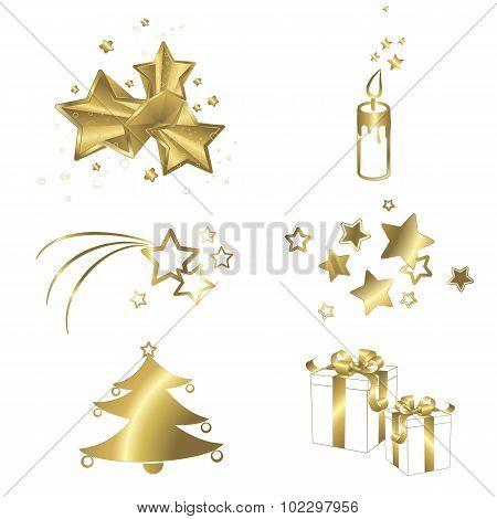 Christmas Isolated Symbols