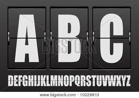 Scoreboard abc.