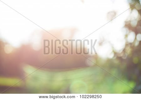 Abstract Bright Blur Background For Web Design