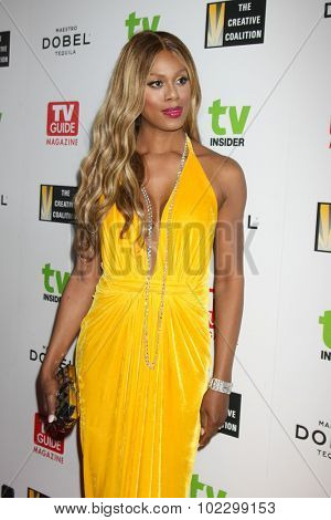 LOS ANGELES - SEP 18:  Laverne Cox at the TV Industry Advocacy Awards Gala at the Sunset Tower Hotel on September 18, 2015 in West Hollywood, CA