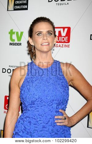 LOS ANGELES - SEP 18:  Amy Landecker at the TV Industry Advocacy Awards Gala at the Sunset Tower Hotel on September 18, 2015 in West Hollywood, CA