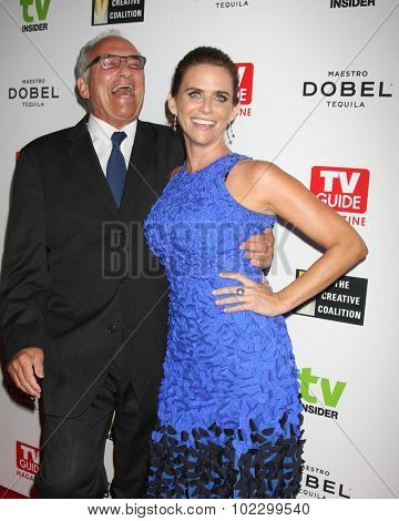 LOS ANGELES - SEP 18:  John Landecker, Amy Landecker at the TV Industry Advocacy Awards Gala at the Sunset Tower Hotel on September 18, 2015 in West Hollywood, CA
