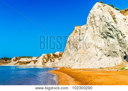 Xi Beach, Kefalonia Island, Greece