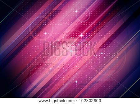 Abstract Purple Vector Lines Background. Vector Illustration
