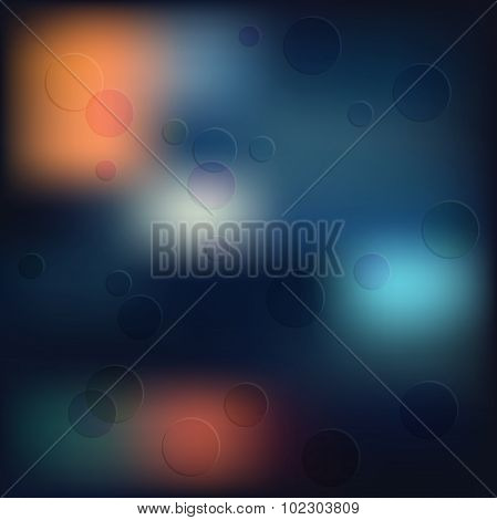Marry Chr Hipster Shapes Blur Background