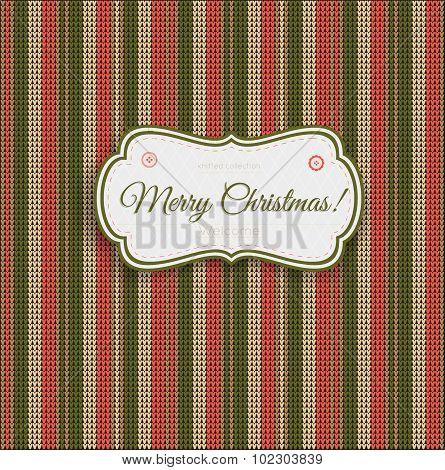 Knitting Merry Christmas 2016