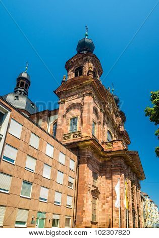 Jesuit Church In Mannheim - Germany, Baden-wurttemberg