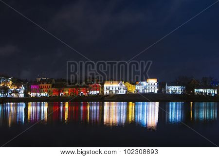 trinity suburb in the centre of minsk, belarus
