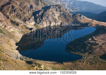 Mountain Lake In Rila, Bulgaria