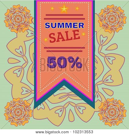 Summer Sale Promotion Flyer