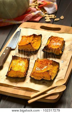 Sweet Baked Pumpkin