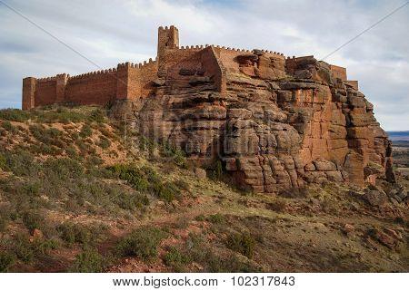 Peracence Castle, Teruel, Aragon, Spain