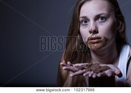 Skinny Girl With Dirty Mouth