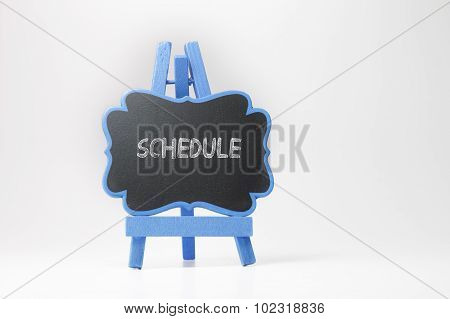 Schedule Text On Blackboard