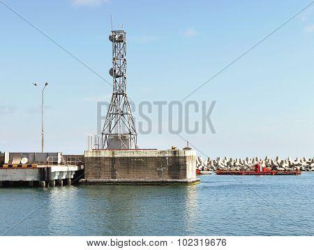 Tower - Radio Repeater Antenna