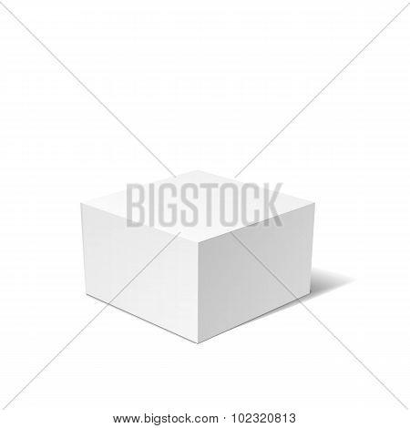 White box isolated
