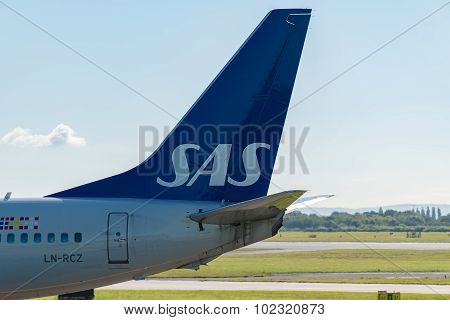 Scandinavian Airlines Tail