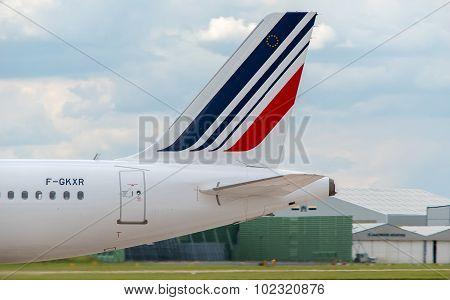 Air France Airbus A320 Tail