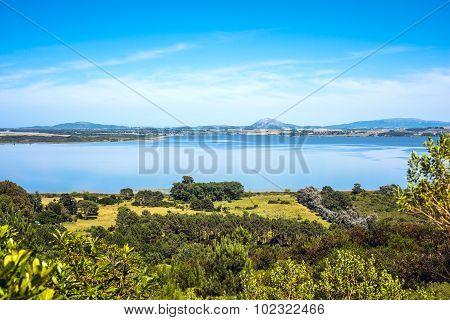 Lagoon Of The Willow (laguna Del Sauce), Maldonado, Uruguay