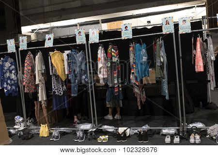 Desigual - Spring 2016 Collection - Backstage