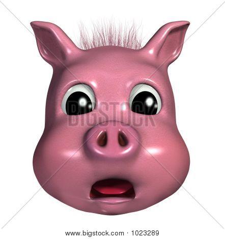 Piggy Emoticon - Sacred