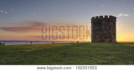Sunset At Barrack Tower La Perouse Australia