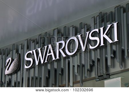 Swarovski fashion brand