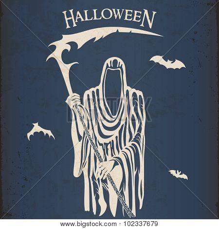 Halloween Grim Reaper Character