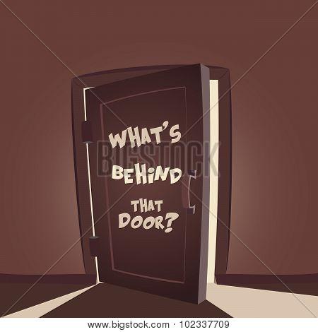 Whats Behind That Door