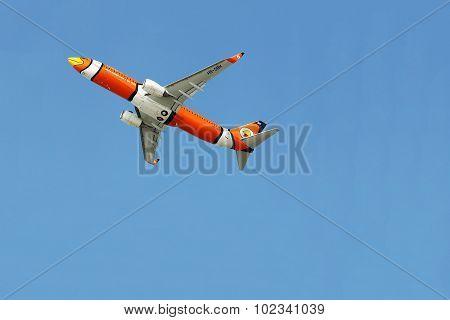 NOK AIR plane at  Donmueang airport