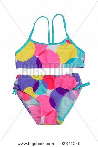Colored Female Swimsuit