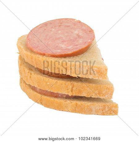 Sandwich with sassage
