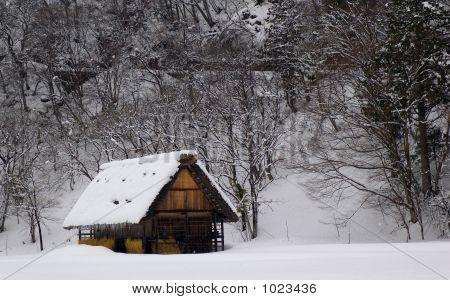 Rural Home In Japan