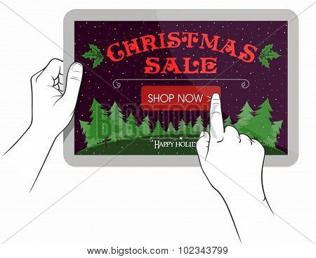 Christmas Sale On Touchpad Screen