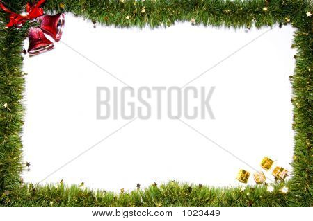 Christmas Still-Life Isolated On White Background