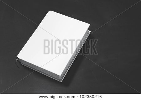 Thick Book With White Cover