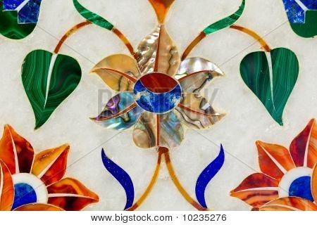 Pietra Dura Flower