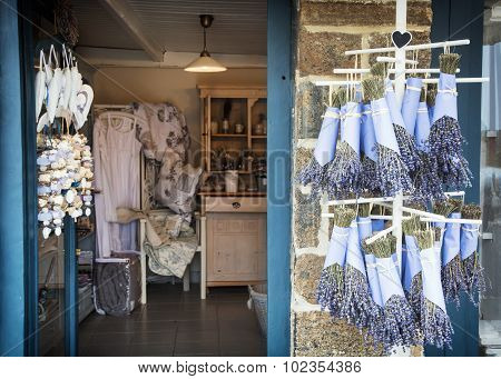 Shop With Products Of Lavender