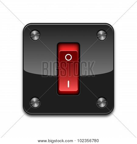 Vector Power Switch Icon