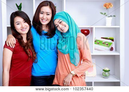 Friendship Between Three Beautiful Women