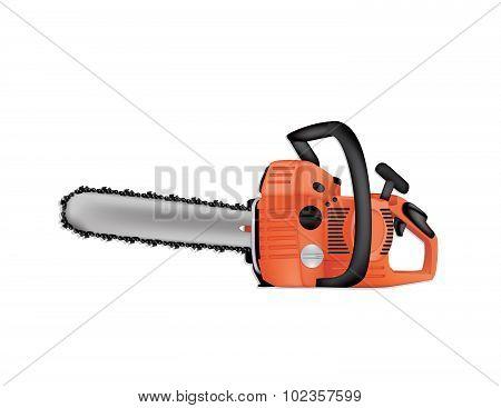 Chainsaw Vector Illustration