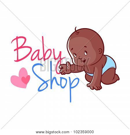 Baby Shop Logo.