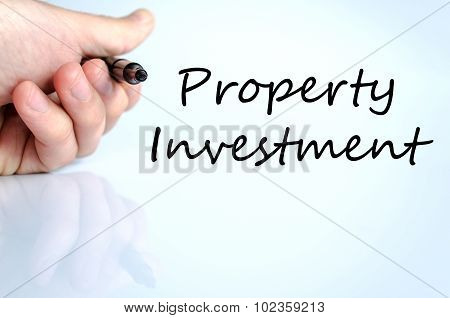 Property Investment Text Concept